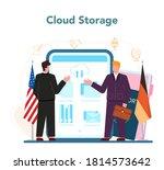 diplomat profession online... | Shutterstock .eps vector #1814573642