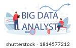 business big data analyst... | Shutterstock .eps vector #1814577212