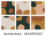 square template with geometric...   Shutterstock .eps vector #1814592422