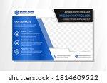vector abstract horizontal... | Shutterstock .eps vector #1814609522