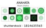anahata icon set. the fourth...