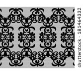 old lace background ornamental... | Shutterstock . vector #181464332