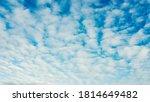 beautiful spring sky at sunny... | Shutterstock . vector #1814649482