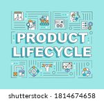 product lifecycle word concepts ...