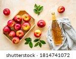 Apple Cider Vinegar In Glass...