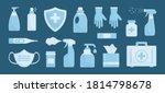 medicine vector set....   Shutterstock .eps vector #1814798678
