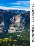 Yosemite Upper And Lower Falls...
