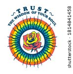trust the wisdom of your soul...   Shutterstock .eps vector #1814841458