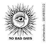 no bad days slogan print design ...   Shutterstock .eps vector #1814850122