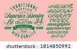 handwritten calligraphic... | Shutterstock .eps vector #1814850992