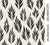 seamless pattern with stylish... | Shutterstock .eps vector #1814869295