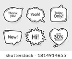 comic chat bubbles. new  30 ...   Shutterstock .eps vector #1814914655