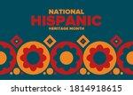 national hispanic heritage...   Shutterstock .eps vector #1814918615