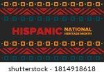 national hispanic heritage... | Shutterstock .eps vector #1814918618