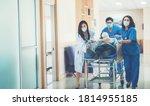 Hospital Emergency Doctor Team...