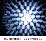 Abstract Background Of Steel...