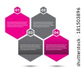 info graphic design template.... | Shutterstock .eps vector #181503896