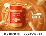 Flay Lay Of Peanut Butter...