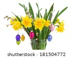 Bouquet Of Daffodil With...