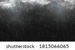 falling raindrops texture...   Shutterstock .eps vector #1815066065