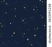 night starry sky background....   Shutterstock .eps vector #1815091238