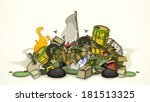 Pile Of Various Garbage