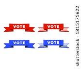 patriotic 2020 voting poster.... | Shutterstock .eps vector #1815175622