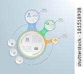 infographic elements  metaball... | Shutterstock .eps vector #181518938