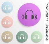 sound from headphones badge...