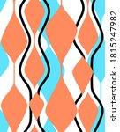 abstract geometric pattern .... | Shutterstock . vector #1815247982