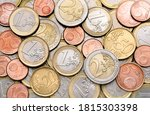 Various Euro Coins For Busines...