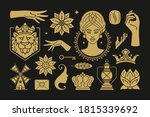 esoteric magic and witch vector ... | Shutterstock .eps vector #1815339692