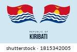 kiribati flag state symbol...
