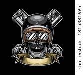 skull vector artwork for t... | Shutterstock .eps vector #1815381695