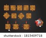 modern power tank property game ...   Shutterstock .eps vector #1815409718