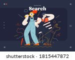 business topics  search  web... | Shutterstock .eps vector #1815447872