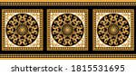 seamless border with golden... | Shutterstock .eps vector #1815531695