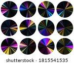 neon radial metallic gradient...