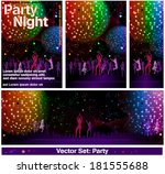 celebrate set party | Shutterstock .eps vector #181555688
