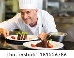 closeup portrait of a smiling... | Shutterstock . vector #181556786