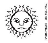 sun graphic design vector...   Shutterstock .eps vector #1815568952