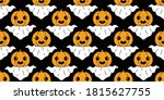 ghost seamless pattern... | Shutterstock .eps vector #1815627755