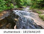Waterfall By Chapel Beach In...