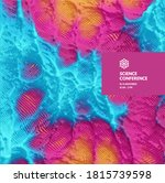 science conference. abstact... | Shutterstock .eps vector #1815739598