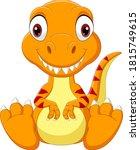 Cartoon Baby Tyrannosaurus...