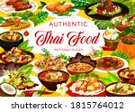 Thai Cuisine Restaurant Menu...