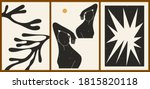 set of three abstract... | Shutterstock .eps vector #1815820118