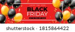 black friday sale banner with...   Shutterstock .eps vector #1815864422