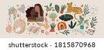 abstract modern art objects.... | Shutterstock .eps vector #1815870968