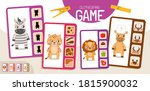 educational  game for children. ... | Shutterstock .eps vector #1815900032